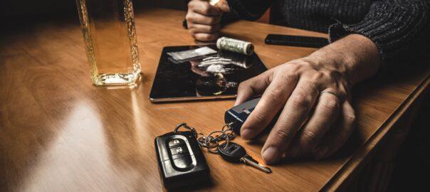 Mann greift nach Kokaineinnahme zum Autoschlüssel
