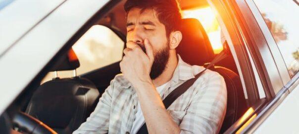 sekundenschlaf beim fahren