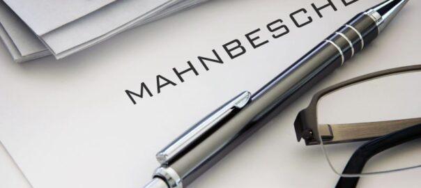 Mahnung unbezahlte Rechnung - Insolvenzrecht