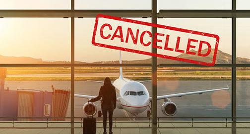 Reise wegen Pandemie abgesagt